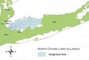 North Shore Land Alliance Designated Area