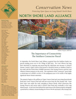 North Shore Land Alliance 2016 Fall Conservation News newsletter